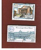 ITALIA REPUBBLICA  - SASS. 1947.1948    -      1990  SCUOLE D' ITALIA   -      USATO - 1946-.. Republiek