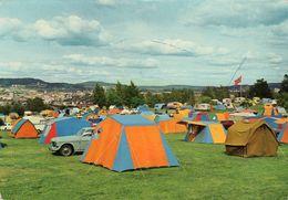 < Automobile Auto Voiture Car >>  Volvo 121, Camping Caravan Oslo Norway Norvège - PKW