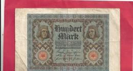 REICHSBANKNOTE . 100 REICHSMARK . 1-11-1920 . N° E.29061878 . 2 SCANES - [ 3] 1918-1933 : República De Weimar