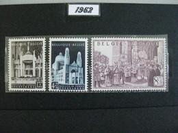 Timbres Belges : Basilique De Koekelberg 1952 COB N° 876, 877, 878 **   & - Belgium
