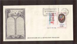 BC - FRANCE -  BICENTENAIRE De La REVOLUTION - 31.8.1989 Sur PO 2573 - SIZIN - - France