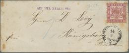 Br Baden - Marken Und Briefe: 1862, 3 Kr. Hellrot Auf Kleinformatigem Umschlag Mit Nebengesetztem EKr. - Baden