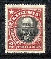 Liberia 1909 - Michel Nr. 107 C * - Liberia