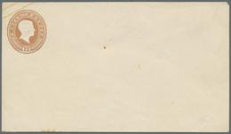 GA Baden - Ganzsachen: 1858 GSU 12 Kreuzer Hellbraun In Sehr Frischer Ungebrauchter Erhaltung, Unterer - Baden