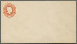 GA Baden - Ganzsachen: 1858, 12 Kr. 18 Kr. Ganzsachenumschlag Je Im Format A, Zwei Ungebrauchte Neudruc - Baden