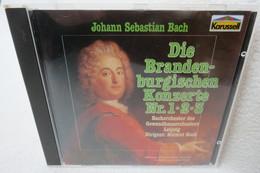 """CD """"Johann Sebastian Bach"""" Die Brandenburgischen Konzerte Nr. 1, 2 Und 3 - Klassik"""