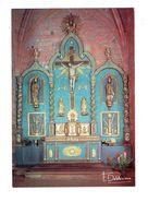 Cpm - 19 - COLLONGES LA ROUGE - Eglise St Pierre. Retable Représentant La Passion Du Christ Debaisieux - Altri Comuni