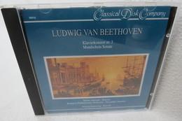 "CD ""Ludwig Van Beethoven"" Klavierkonzert Nr. 3 Mondschein Sonate - Klassik"