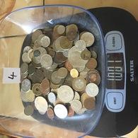 Lot De 1 Kg De Monnaies étrangères . Port Gratuit. Vous Achetez Le Kilo En Photos. Lot 4 - Monnaies