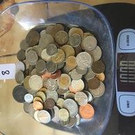 Lot De 1 Kg De Monnaies étrangères . Port Gratuit. Vous Achetez Le Kilo En Photos. Lot 8 - Non Classés