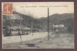 Saint-André-de-la-Roche Environs De Nice Tramways De Nice Et De Littoral T.N.L. 06730 Excursion En Tram  Saint André - Frankrijk