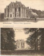 Marbaix - La - Tour : Château De La Psature  --- 2 Cp - Ham-sur-Heure-Nalinnes