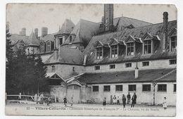 (RECTO / VERSO) VILLERS COTTERETS EN 1907 - N° 23 - CHEMINEE HISTORIQUE DE FRANCOIS 1eR AVEC PERSONNAGES  - CPA VOYAGEE - Villers Cotterets