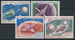Raumfahrt / Kamerun Nr. 502-505 ** - Space