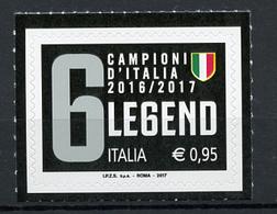 2017 -  Italia - Italy - Juventus Legend -  Mint - MNH - 6. 1946-.. Repubblica