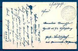 1939 , ALEMANIA , TARJETA POSTAL CIRCULADA , NIEDERBIEBER - SEGENDORF / NEUWIED - Cartas