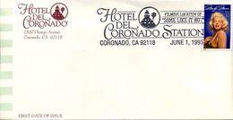 USA - FDC - Marilyn Monroe - Hotel Del Coronado                        D4683 - FDC