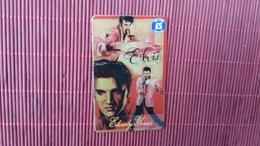 Elvis Presley Phonecard (Mint,Neuve) Very Rare 2 Scans - Music