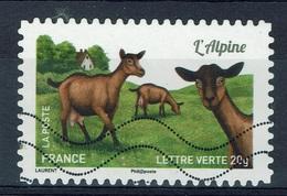 "France, French Goat Breed, ""Alpine Goat"", 2015, VFU Self-adhesive - France"