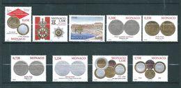 Monaco Timbres De 2008  N°2641 A 2649  Neuf ** Parfait Vendu Sous Faciale (faciale 9€16) - Nuovi