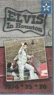"LONG BOX 4 CD - EVIS PRESLEY -  "" IN HOUSTON ""  + LIVRE 8 PAGES  ( 96 TITRES ) - Musique & Instruments"