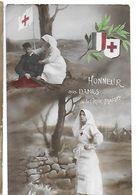 Guerre 1914-1918 - Dames  De La Croix Rouge Française - Weltkrieg 1914-18