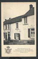 +++ CPA - Type De Maison Des A.S.I.B. - HAM SUR HEURE  - ... Soldat LANOY - Invalide - Guerre   // - Ham-sur-Heure-Nalinnes
