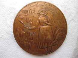 Médaille En Bronze, Hellás GRECE, Par Hélène Guastalla - France