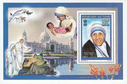Du Tchad. 1998. Orchids.Mother Teresa. Michel.bl.281A. MNH.24345 - Orchids