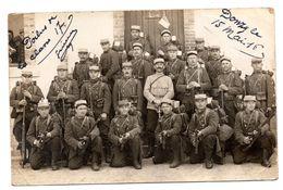 Carte Photo Biaud Donzy Cosne Sur Loire Le 85 ème WW1  1917 - Cosne Cours Sur Loire