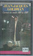 """K7 VIDEO  -  JEAN-JACQUES GOLDMAN   """" CARNET DE ROUTE 1981 A 1986 """" - Concert Et Musique"""