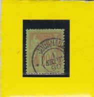 SAGE N° 96a  Brique Foncé Sur Vert  CACHET  JOURNAUX   1 SEPT. 1890 -REF 14017 - 1876-1898 Sage (Type II)