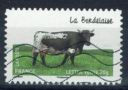 "France, French Cattle Breed, ""Bordelaise"", 2014, VFU Self-adhesive - Frankrijk"
