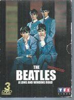 "3 DVD  -  THE BEATLES   "" A LONG AND WINDING ROAD "" -  3 CD + LIVRE 24 PAGES - Concert Et Musique"