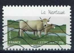 "France, French Cattle Breed, ""Nantaise"", 2014, VFU Self-adhesive - Frankrijk"