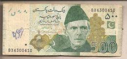 Pakistan - Banconota Circolata Da 500 Rupie P-49 Ae - 2013 - Pakistan