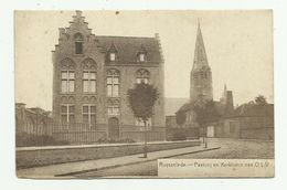 Ruiselede - Ruysselede    *  Pastorij En Kerktoren Van O.L.V. - Ruiselede