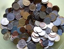 Lot De 2Kg 400 De Pièces De Monnaie Du Monde Entier Sauf France - Vrac - Monnaies