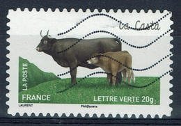 """France, French Cattle Breed, """"Casta"""", 2014, VFU Self-adhesive - France"""