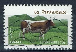 "France, French Cattle Breed, ""Ferrandaise"", 2014, VFU Self-adhesive - Frankrijk"