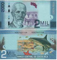 COSTA RICA   2'000  Colones   PNEW. New Date 16.9.2015     (2017)     UNC - Costa Rica