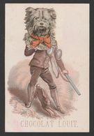 CHROMO CH.LOUIT - Caricature - 112x75 Mm - Chromos