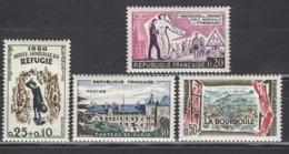 FRANCE 1960 - LOT  Y.T. N° 1253 / 1254 / 1255 / 1256 - NEUFS** - Nuevos