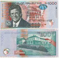 New MAURITIUS   1'000 Rupees       Pnew  Dated  2016. UNC - Mauritius