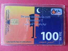 ALGERIE 100u Algérie 7 Jours Sur 7 NSB Neuve Blister Oria Afrique - Algeria