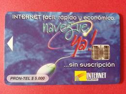 COLOMBIE Puce Inversée INTERNET EMCATEL EMCALI 5000$ PRON-TEL Puce Grillée Test Demo - Colombia