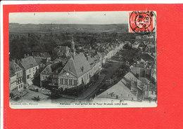80 PERONNE Cpa Vue Prise De La Tour Saint Jean Coté Sud          Edit Souillard - Peronne