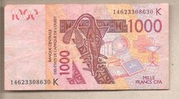 Senegal - Banconota Circolata Da 1000 Franchi CFA P-715Kl - 2014 - Senegal