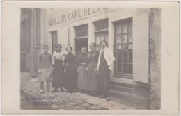72  Vibraye Carte Photo Guillon Cafe - Vibraye