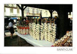 Saint-Clar - Le Marché à L'ail - Francia
